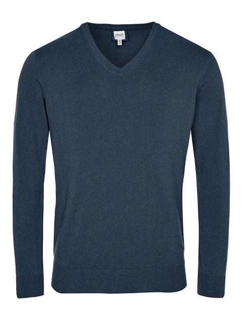 Пуловер синий Armani Collezioni 2918883
