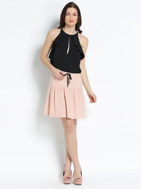 Платье черно-розовое Annarita N 2243026
