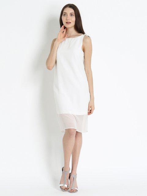 Сукня біла Elisabetta Franchi 2400922