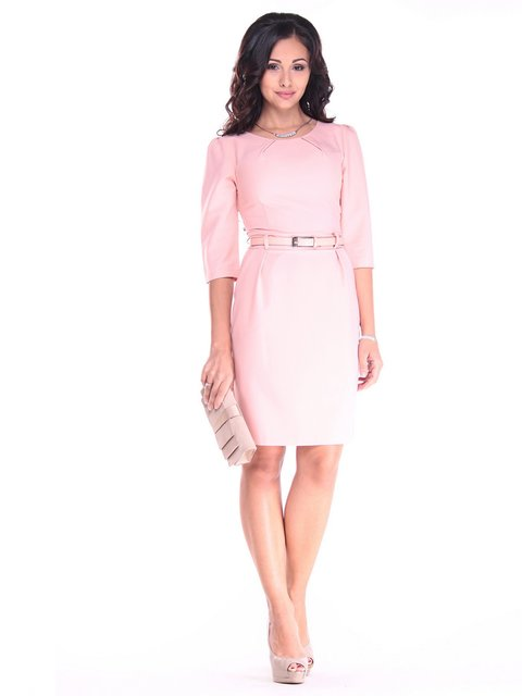 Платье персикового цвета Dioni 2917848