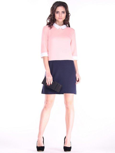 Платье персиково-синего цвета Dioni 2917883