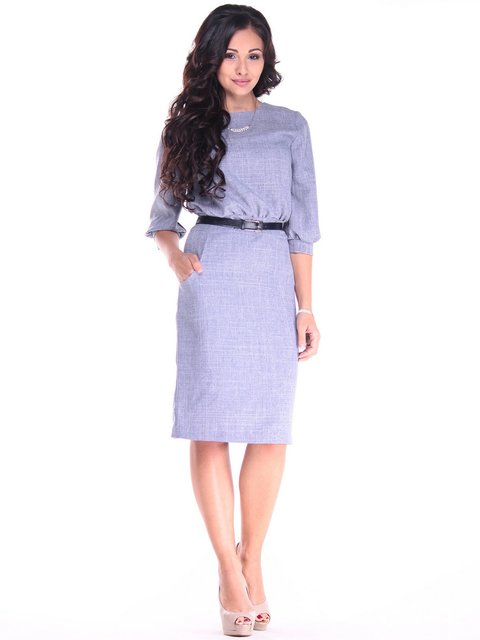 Платье цвета фиолетовой дымки Rebecca Tatti 2932900