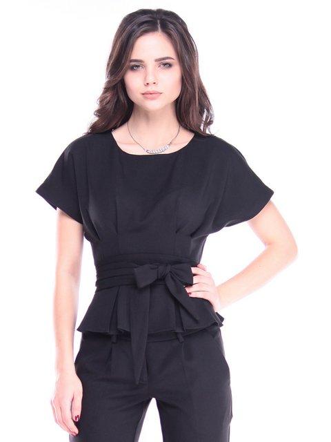 Блуза черная Laura Bettini 2962282