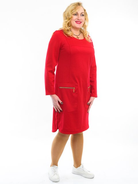 Платье красное LibeAmore 3024514