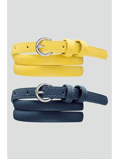 Ремінь жовтий Orsay 2980394