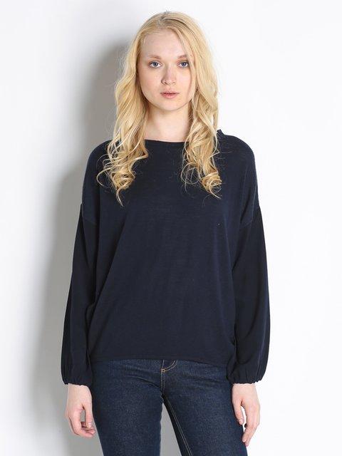 Блуза темно-синяя Stefanel 2748825
