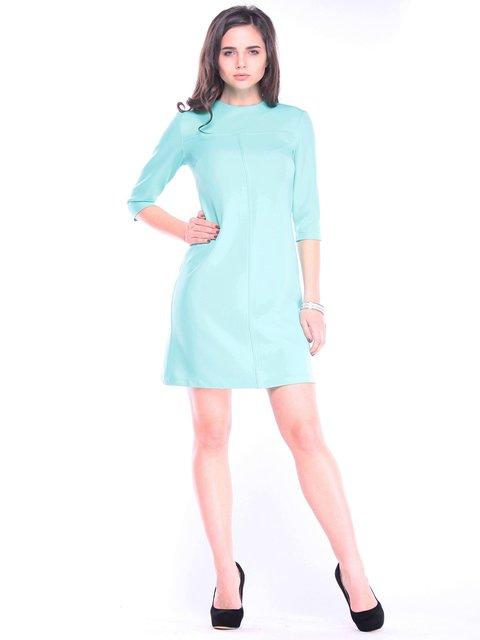 Платье ментолового цвета Dioni 3031597