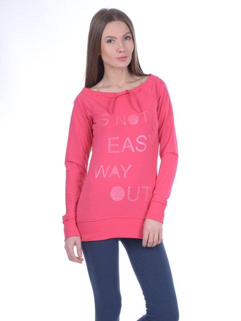 Свитшот розовый Piazza Italia 3038459