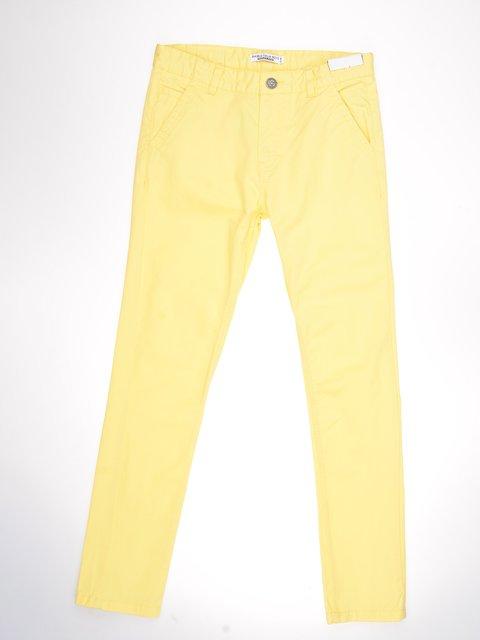Штани жовті Piazza Italia 3038529