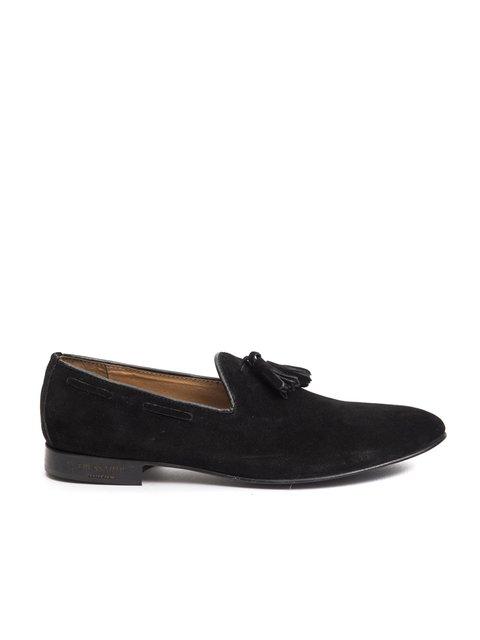 Лоферы черные Trussardi Collection 3043063