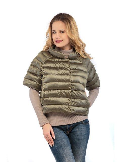 Куртка кольору хакі Mila Nova 3043014