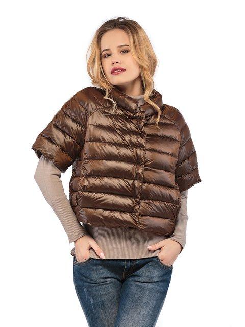 Куртка коричнева Mila Nova 3043016