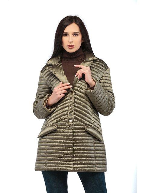 Куртка кольору хакі Mila Nova 3043193