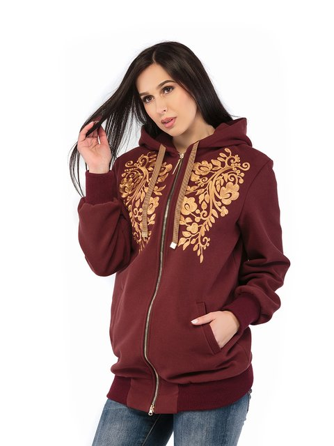 Куртка бордова Mila Nova 3043239