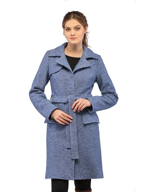 Пальто синє Mila Nova 3043287
