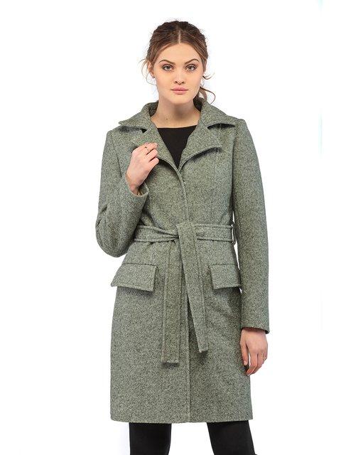 Пальто кольору хакі Mila Nova 3043288