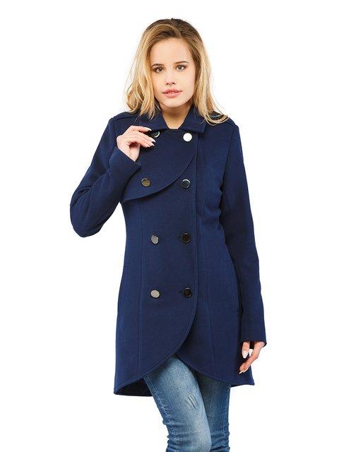 Пальто синє Mila Nova 3043293
