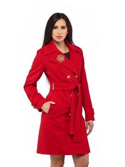 Пальто червоне Mila Nova 3043296
