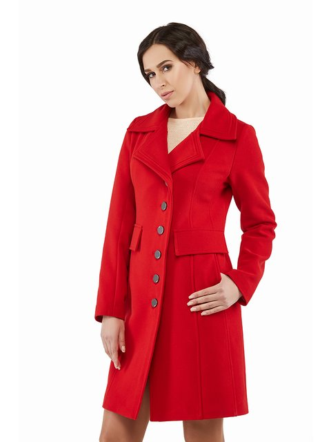 Пальто червоне Mila Nova 3043308