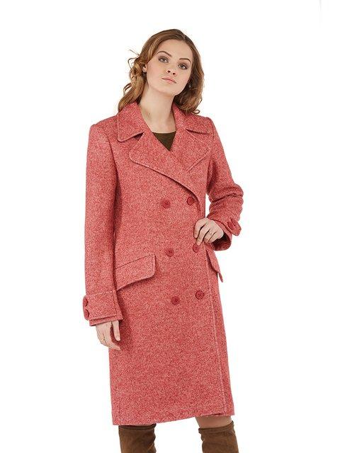Пальто рожеве Mila Nova 3043318
