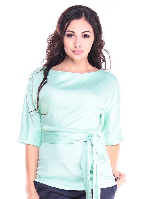 Блуза нежно-зеленого цвета Maurini 2845054