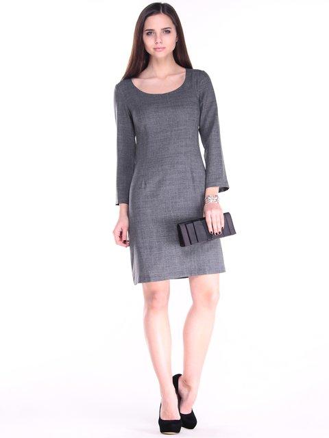 Платье графитового цвета Maurini 2870773