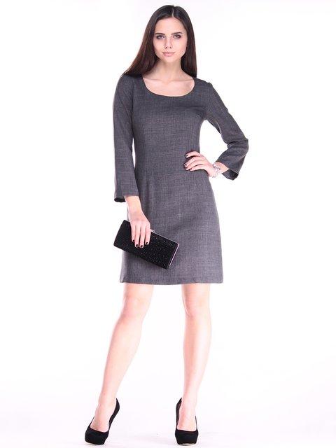 Платье графитового цвета Maurini 2917995