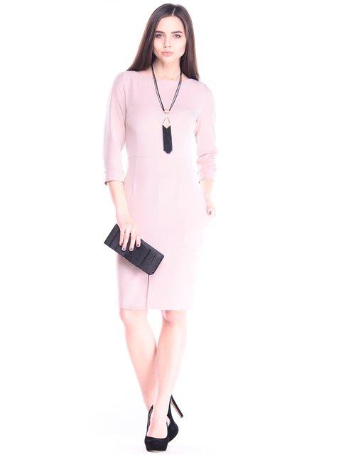 Платье цвета кофе с молоком Maurini 2995949