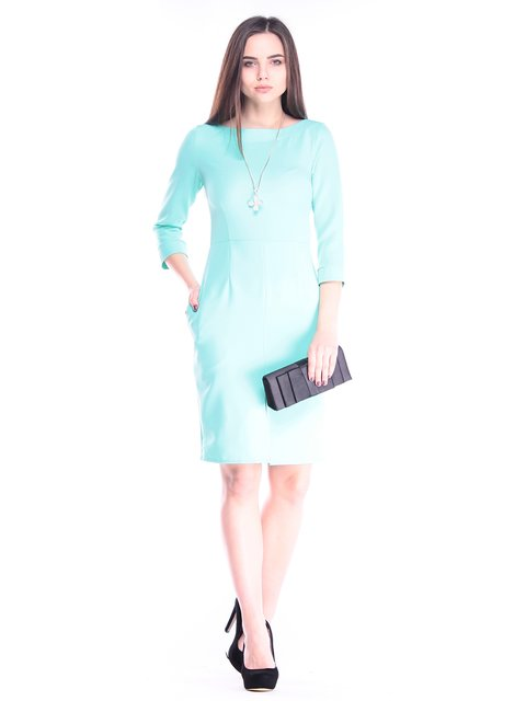 Платье ментолового цвета Maurini 2995950