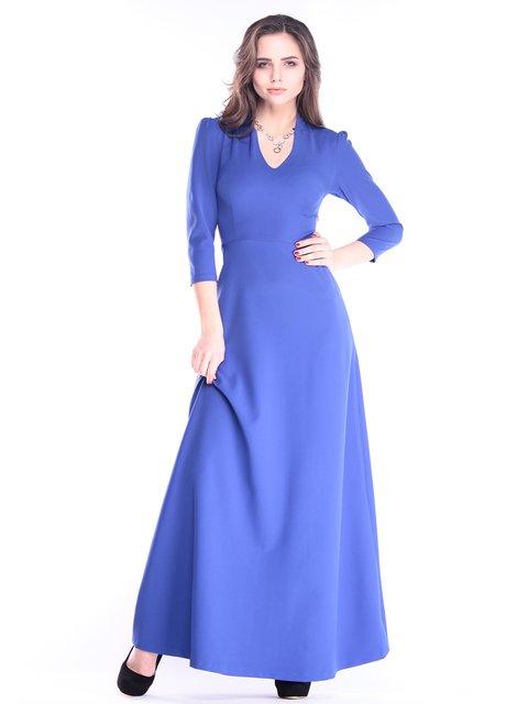 Платье цвета электрик Maurini 2995951
