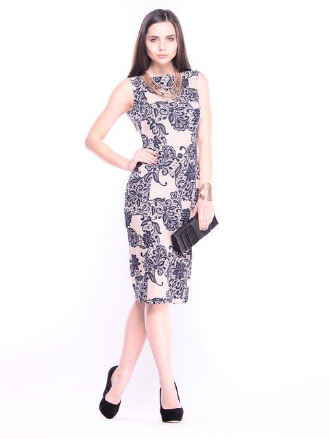 Платье в принт Laura Bettini 3008062