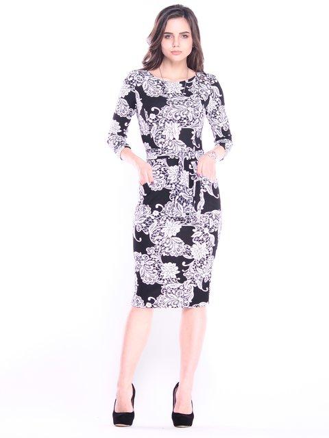 Сукня в принт Laura Bettini 3008077
