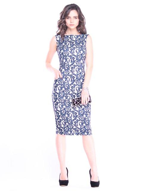 Платье в принт Dioni 3008100