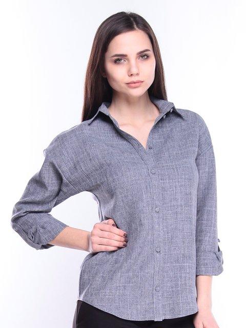 Рубашка дымчатого цвета Maurini 3008154