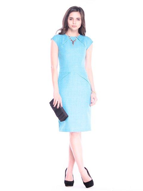 Платье ментоловое Rebecca Tatti 3040938