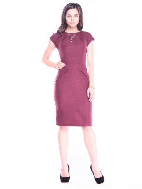 Платье темно-сливовое Rebecca Tatti 3040940