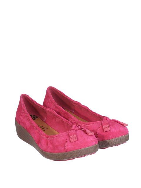 Туфлі малинові Fit Flop 2339200