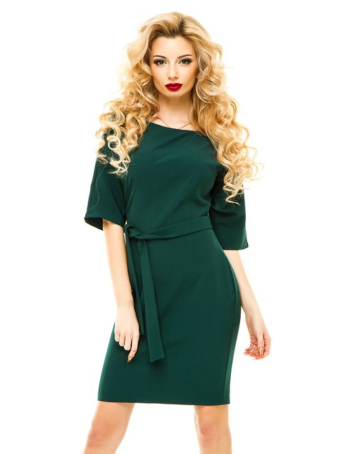 Сукня темно-зелена ELFBERG 3064361