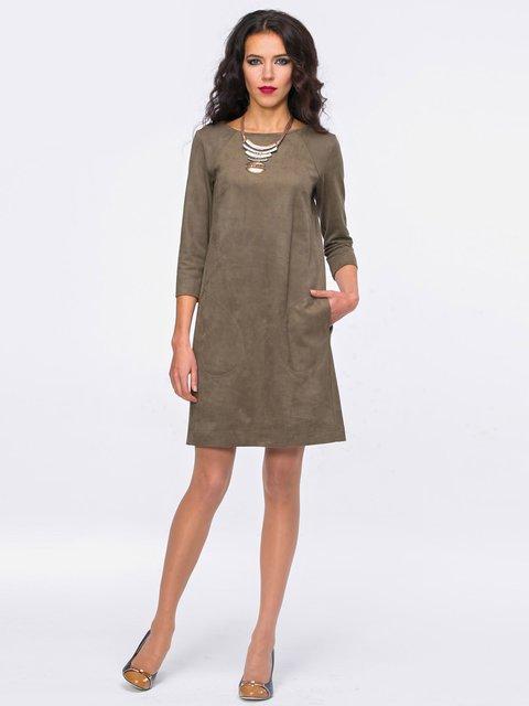 Платье цвета хаки Jet 2741707