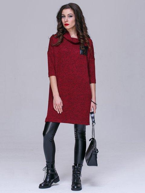 Платье бордовое Jet 2984709