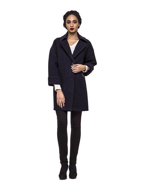 Пальто темно-синее Victoria Bloom 3069278
