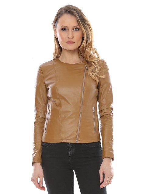 Куртка коричневая L.Y.N.N by Carla Ferreri 2645922