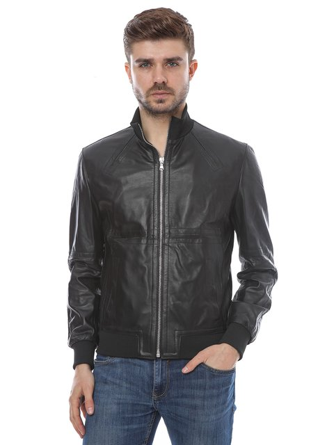 Куртка чорна Mangotti 2646184