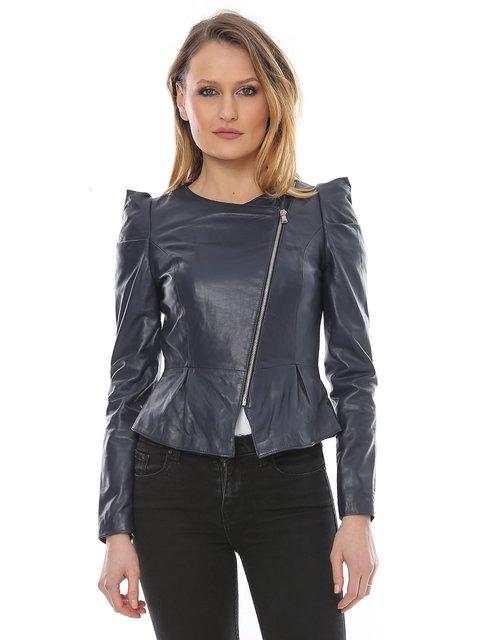 Куртка темно-синяя L.Y.N.N by Carla Ferreri 3010779