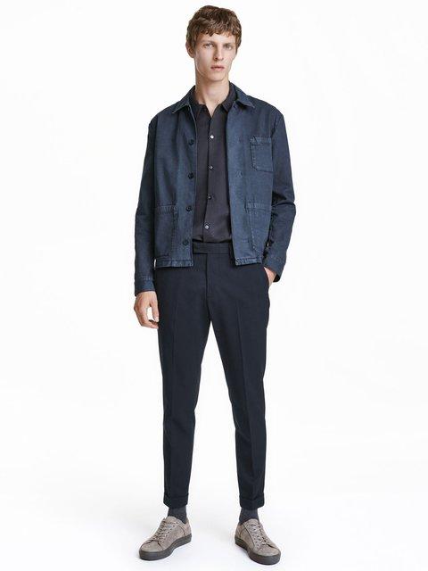 Штани темно-сині H&M 3081619