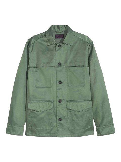 Куртка зелена H&M 3081930
