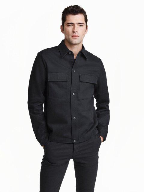 Куртка черная H&M 3086700