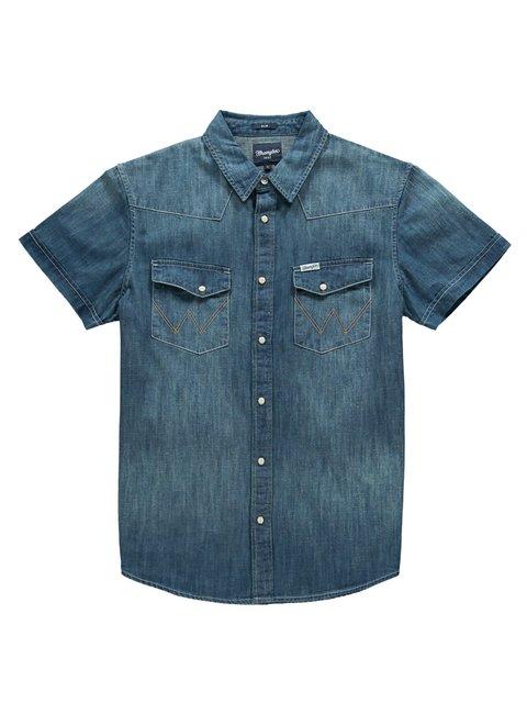 Сорочка синя Wrangler 3088416