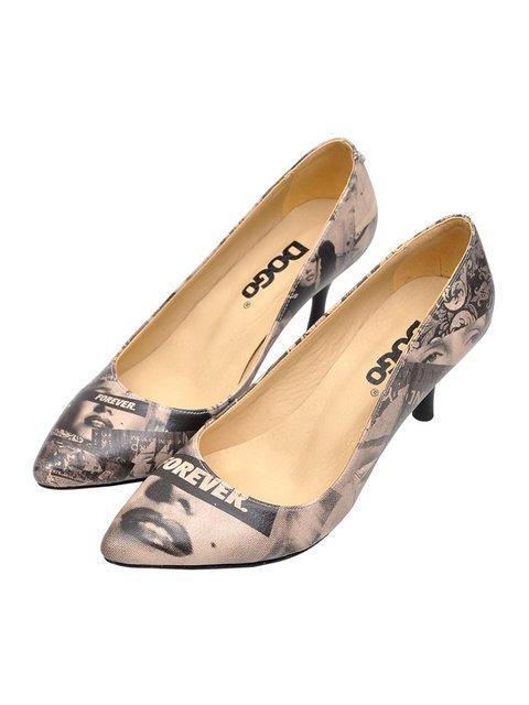 Туфли в принт DOGO 3081078