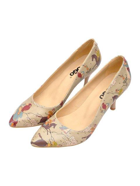 Туфлі в принт DOGO 3081081